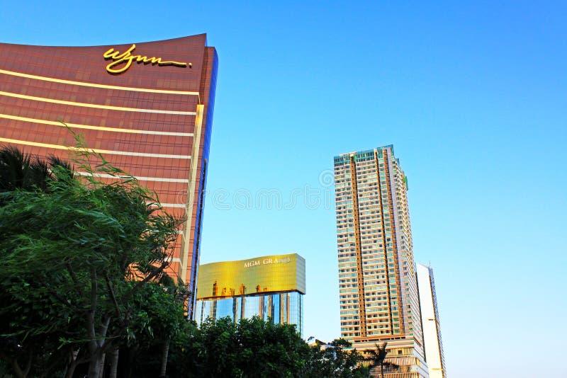 Wynn Casino Building, Macau, China stock photos