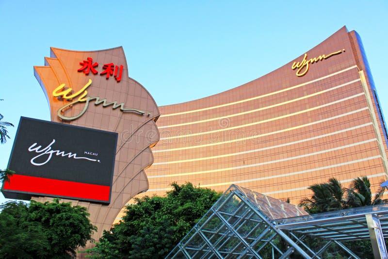 Wynn Casino Building, Macau, China royalty free stock image