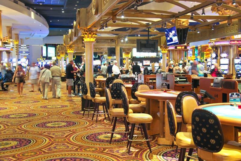 Casino in Caesar's Palace in Las Vegas royalty free stock photos