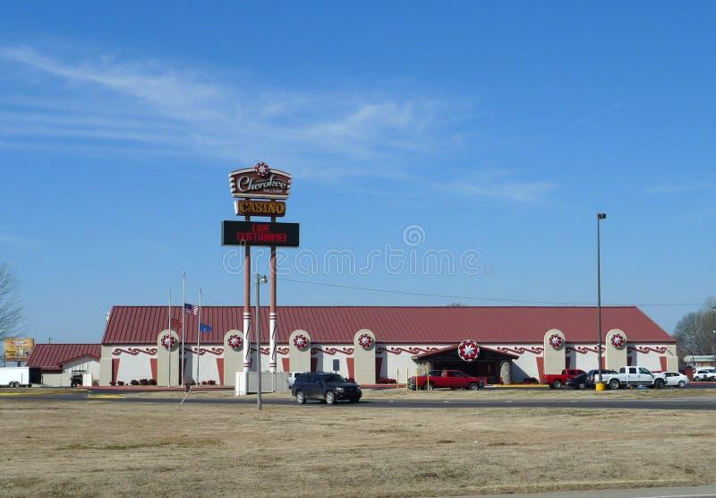 Casino cherokee, Sallisaw, Oklahoma imagen de archivo