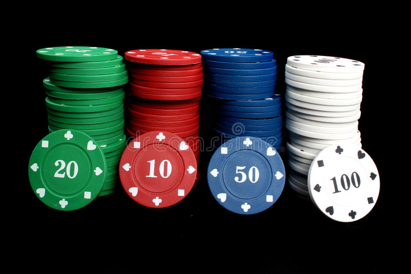 Download Casino Chips stock image. Image of fifties, chip, stacks - 10689785