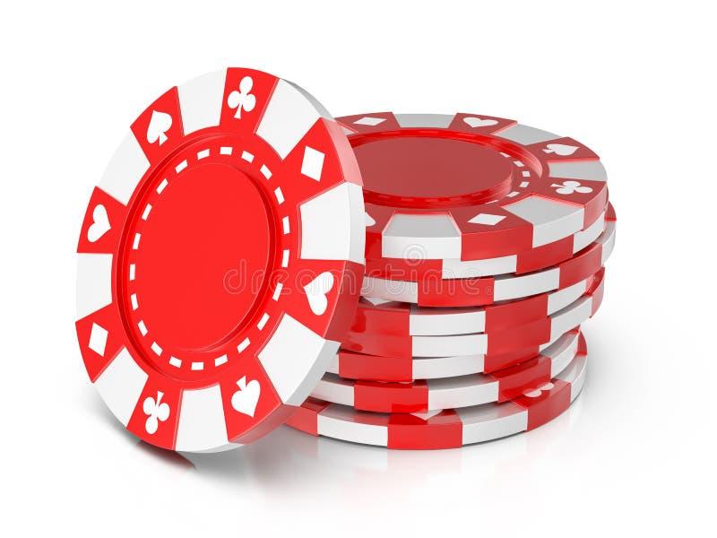 Casino chips stock illustration