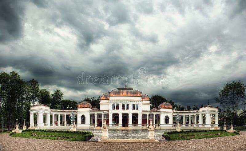 The Casino in Cluj Napoca, Romania. The Casino building in Cluj Napoca, Romania royalty free stock photos