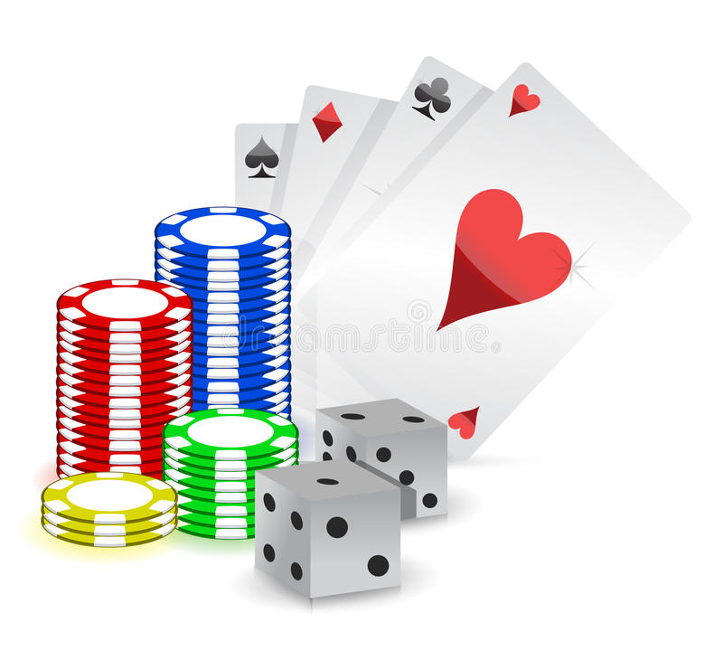 Casino Concept Royalty Free Stock Photography