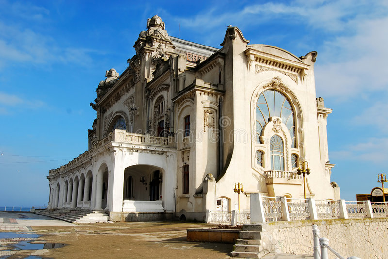 Casino from Constanta royalty free stock image