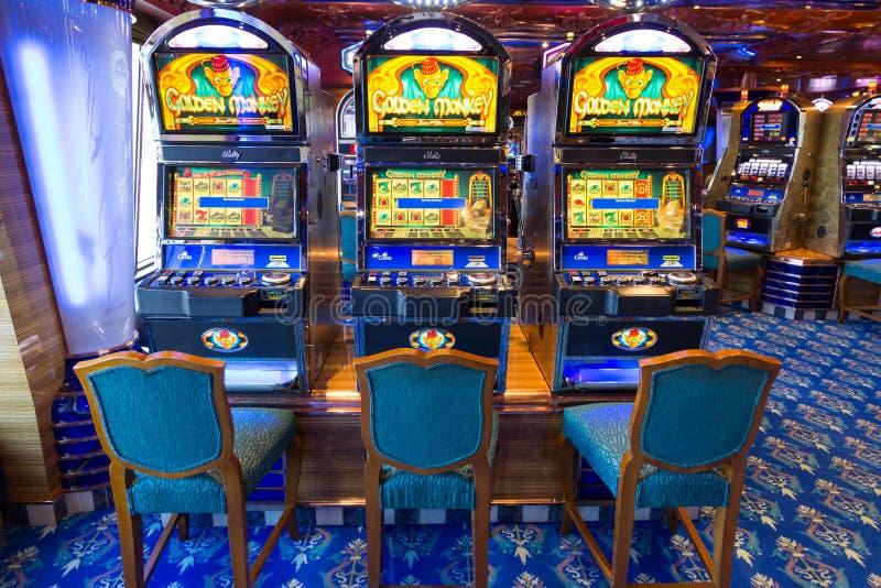 Casino cruise stock photography