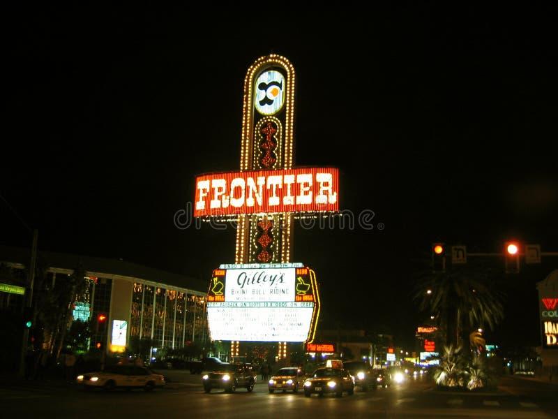 Casino d'hôtel de frontière, Las Vegas, Nevada, Etats-Unis image libre de droits