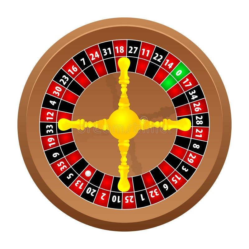 Casino da roleta ilustração royalty free