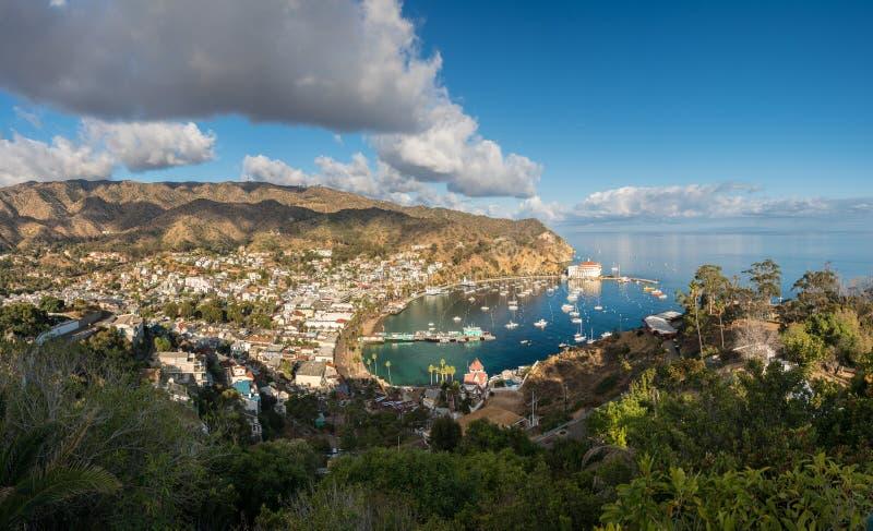 Casino dans Avalon sur Catalina Island images libres de droits