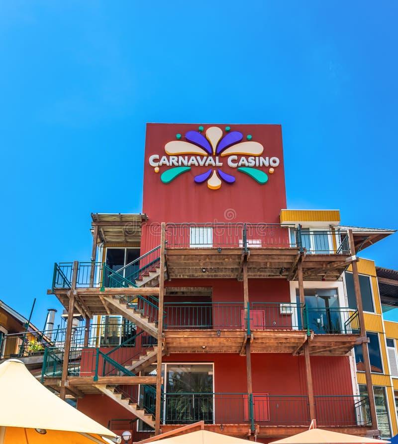 Casino de Carnaval en Curaçao fotos de archivo libres de regalías