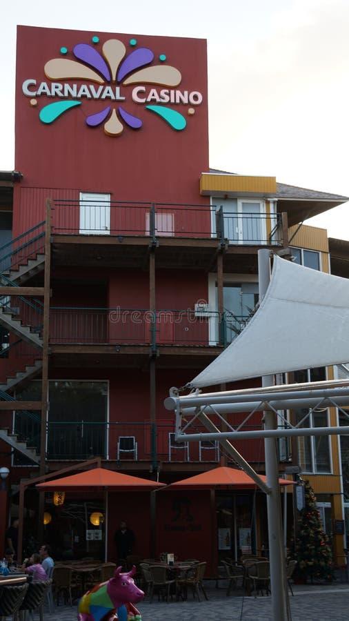 Casino de Carnaval en Willemstad, Curaçao fotografía de archivo libre de regalías