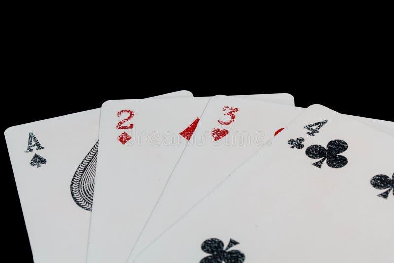 Casino de carte photos stock