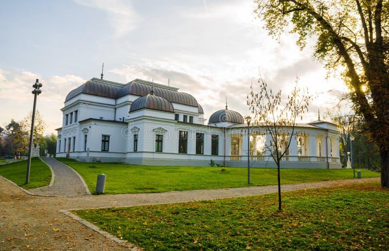 Casino de Cluj Central Park fotos de archivo libres de regalías