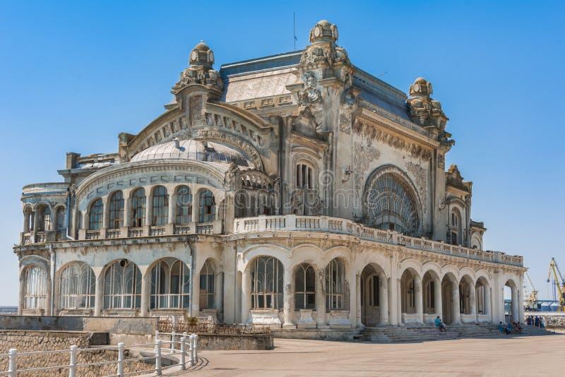Casino de Constanta, Romania foto de stock royalty free