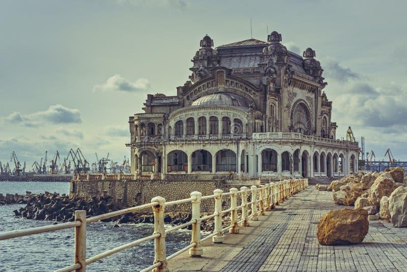 Casino de Constanta, Romania fotos de stock royalty free