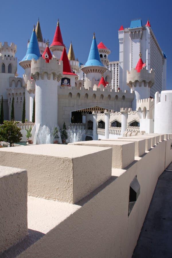 Casino de Excalibur fotografía de archivo libre de regalías