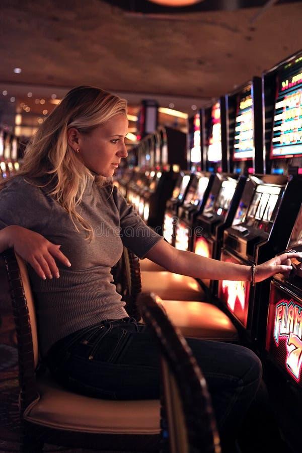 Casino de fente photographie stock