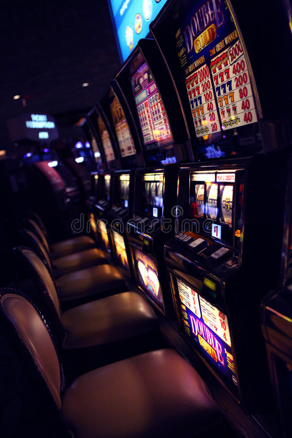 Casino de fente image stock