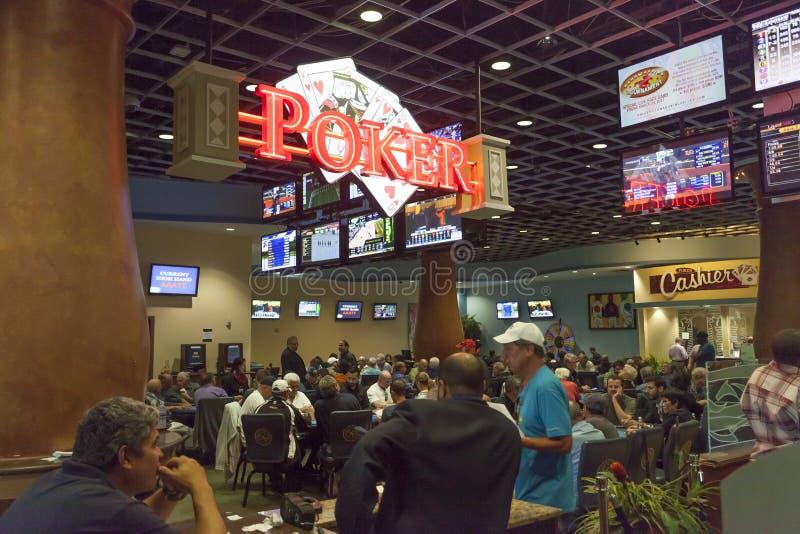Casino de Gulfstream en la playa de Hallandale, la Florida imagenes de archivo