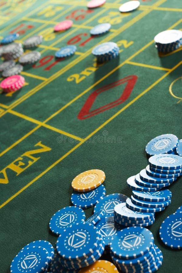 Casino de la ruleta imágenes de archivo libres de regalías