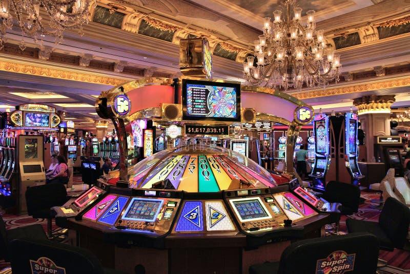 Casino de Las Vegas images libres de droits