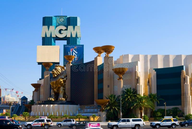 Casino de MGM à Las Vegas image stock