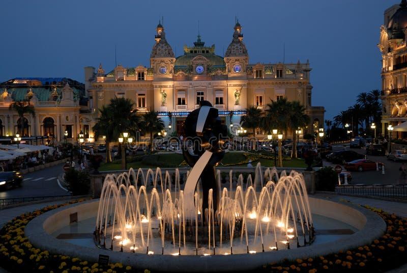 Casino de Monte Carlo photo libre de droits