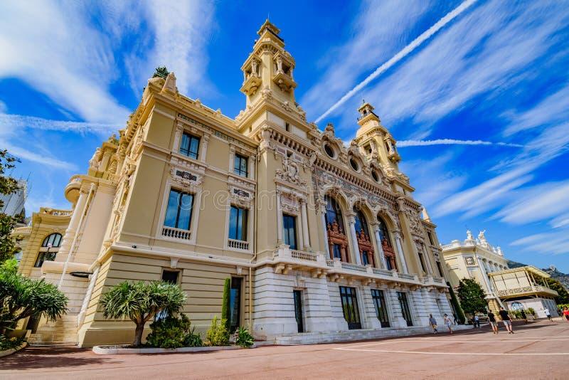 Casino de Monte - de Carlo foto de stock royalty free
