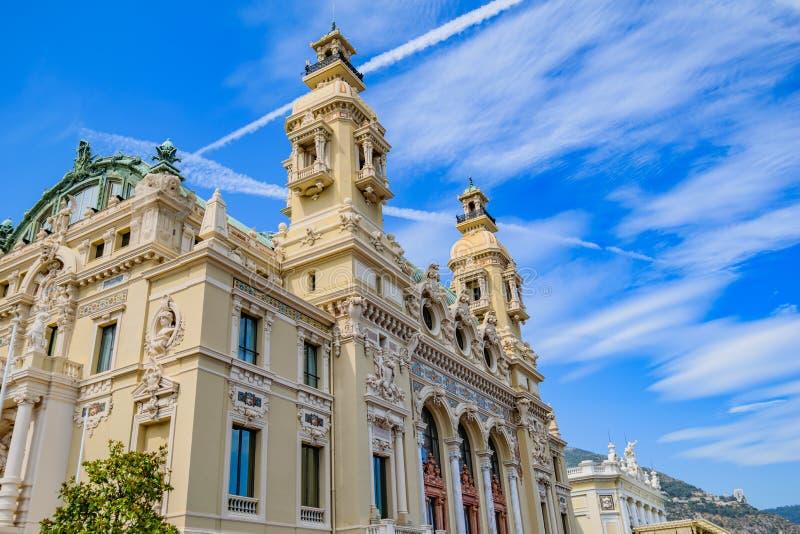 Casino de Monte - de Carlo fotos de stock royalty free