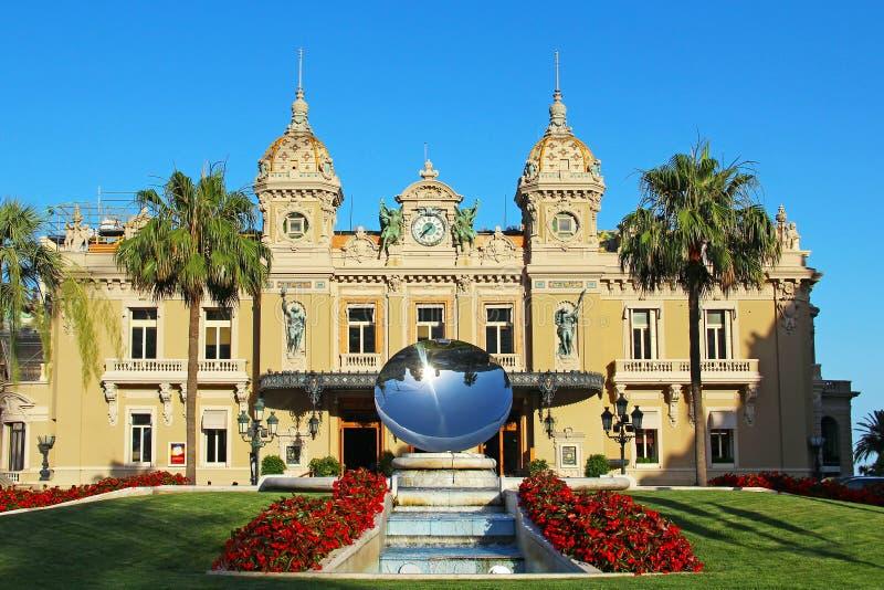 Casino De Monte Carlo, Monaco images libres de droits