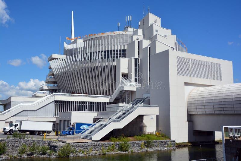 The Casino de Montreal stock photography