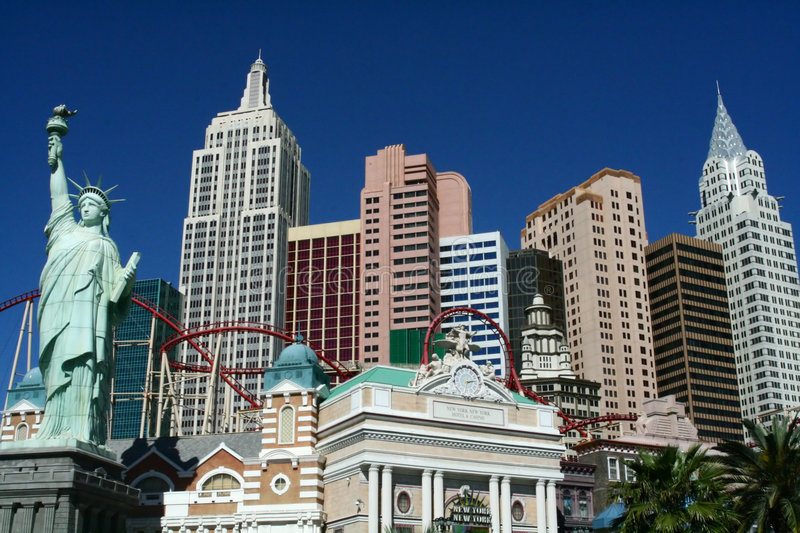 Casino de New York - Las Vegas photo stock