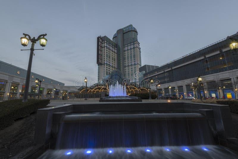 Casino de Niágara fotografía de archivo