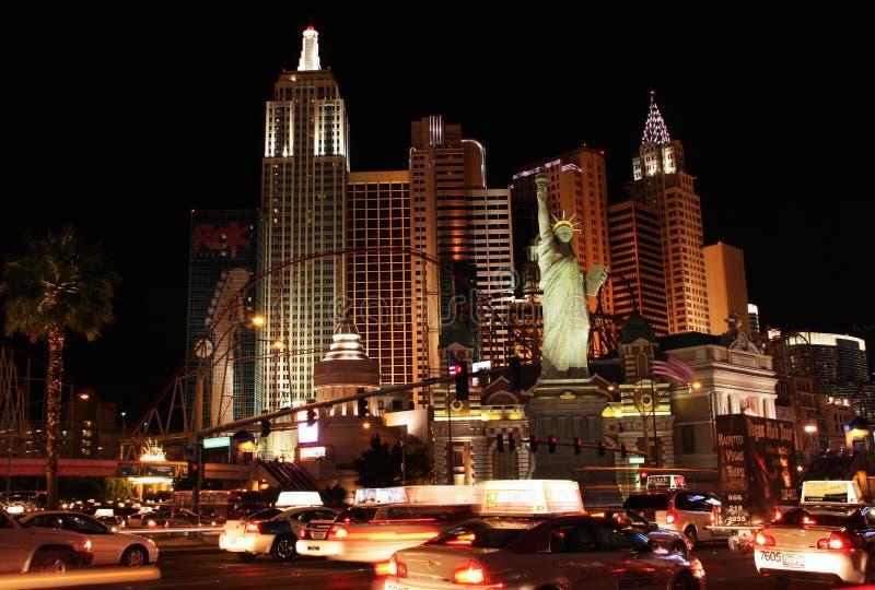 Casino de Nueva York imagen de archivo