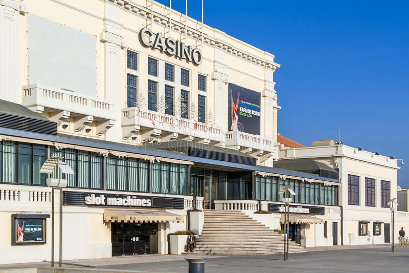 Casino de Povoa de Varzim photos libres de droits