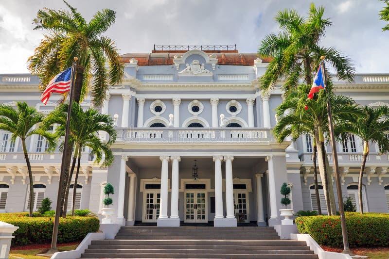 Casino de Puerto Rico de Antiguo fotografía de archivo libre de regalías