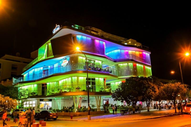 Casino de Santa Marta images libres de droits