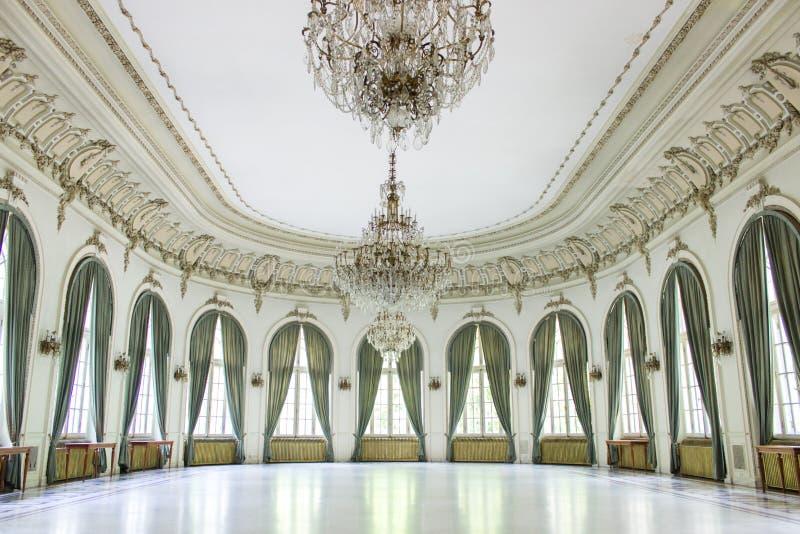 Casino de Sinaia - Romênia foto de stock royalty free