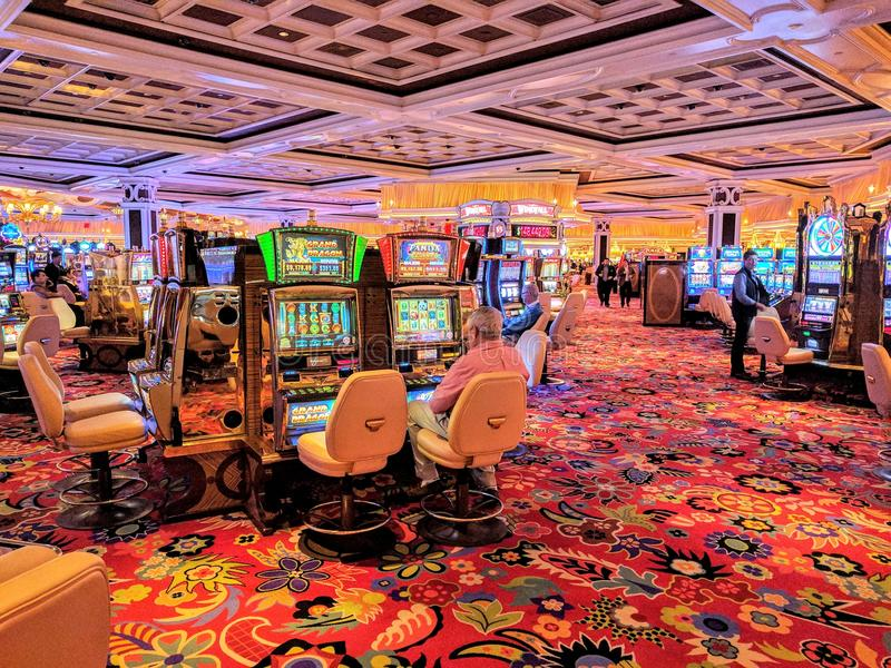Casino de Wynn images libres de droits