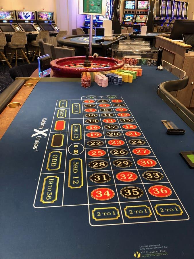 Casino del barco de cruceros imágenes de archivo libres de regalías