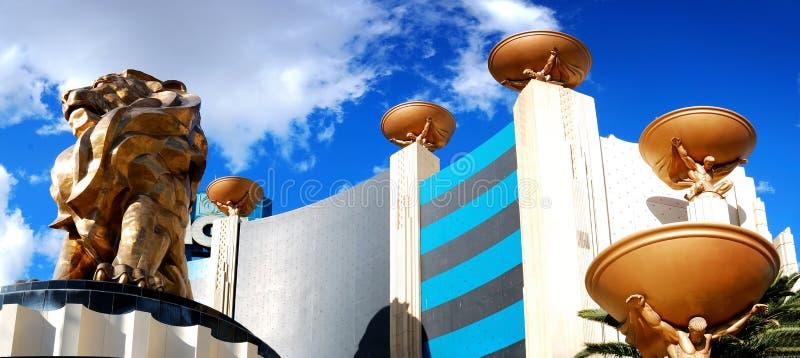 Casino del hotel de Mgm Grand, Las Vegas. imágenes de archivo libres de regalías