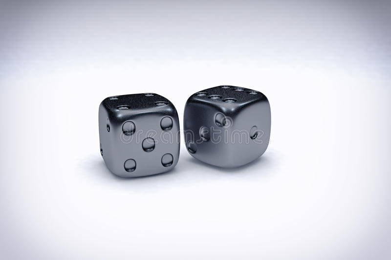 Casino Dice Background royalty free stock photo