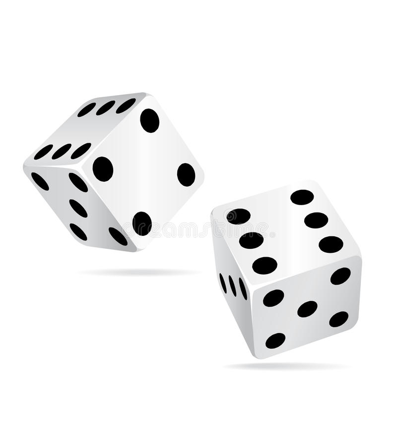 Free Casino Dices Icon Ll. Royalty Free Stock Image - 13226306