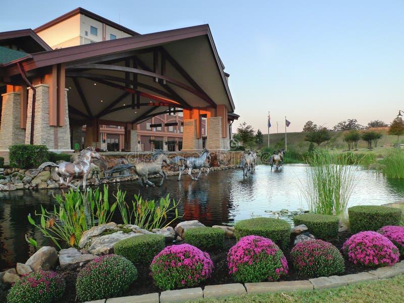 Casino do Choctaw, Pocola, exterior de Oklahoma fotos de stock royalty free