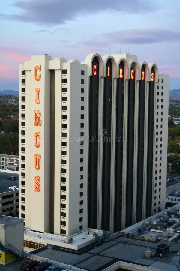 Casino do circo do circo - Reno, Nevada imagem de stock