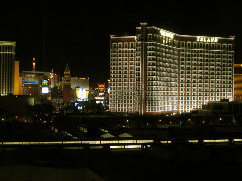 Casino do hotel da ilha do tesouro, Las Vegas, Nevada, EUA imagens de stock
