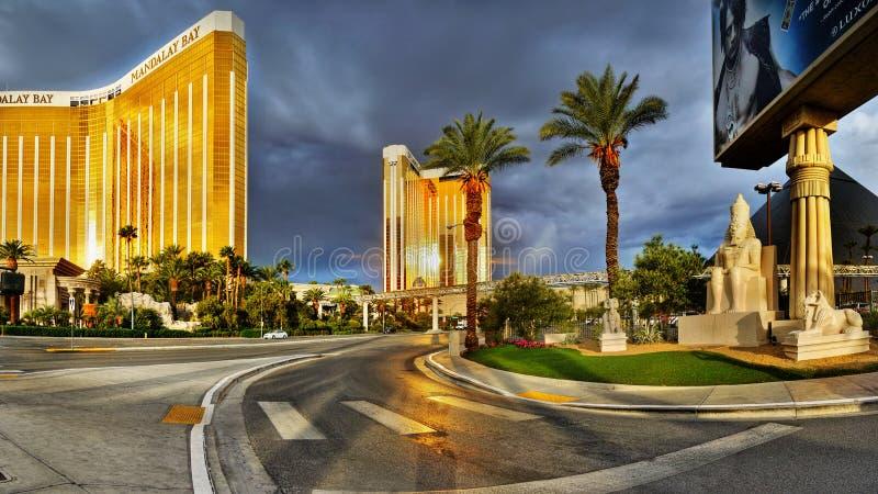 Casino do hotel da tira de Las Vegas fotos de stock royalty free
