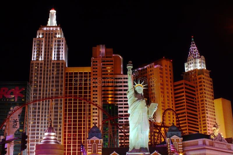 Casino do hotel de New York New York foto de stock