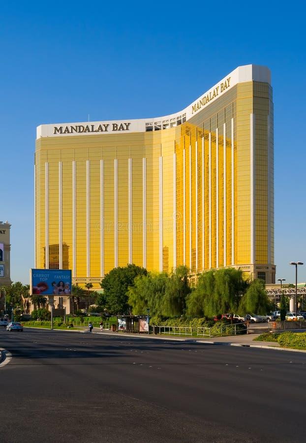 Casino do louro de Mandalay em Las Vegas foto de stock