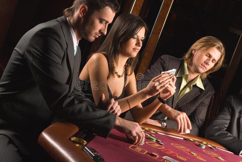 Casino en de jeugd stock fotografie